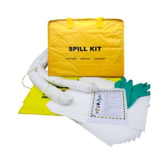 Portable Spill Kit Bag, Oil Only, 28L