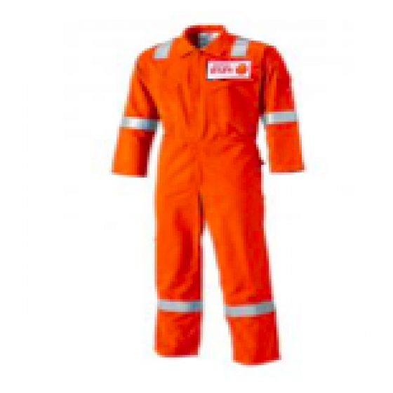 4.5oz ORANGE FR COVERALL