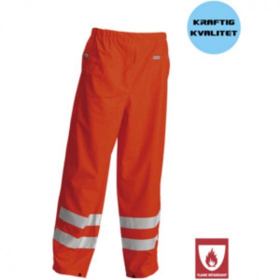 Hi Vis Flame Retardant Rain Pants Orange