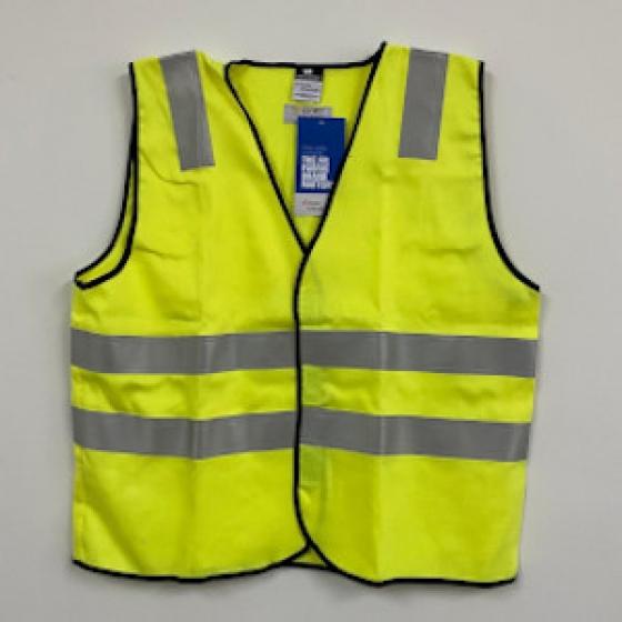 WESTEX 7.0oz Ultrasoft Hi-Viz Yellow Safety Vest